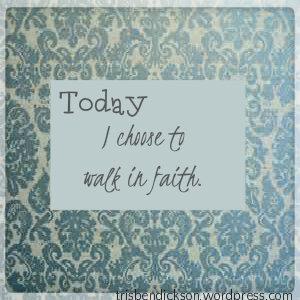 Today I walk