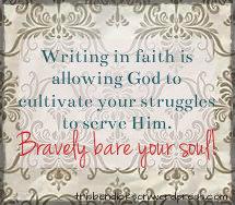 writing in faith